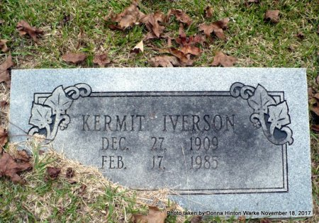 IVERSON, KERMIT - Bienville County, Louisiana | KERMIT IVERSON - Louisiana Gravestone Photos