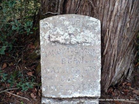 IVERSON, NANCY - Bienville County, Louisiana   NANCY IVERSON - Louisiana Gravestone Photos