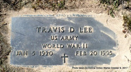LEE  , TRAVIS DALTON  (VETERAN WWII) - Bienville County, Louisiana   TRAVIS DALTON  (VETERAN WWII) LEE   - Louisiana Gravestone Photos