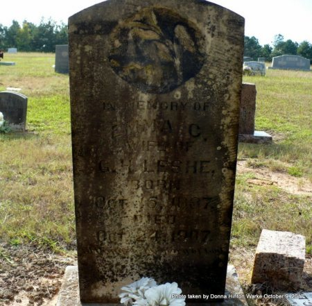 LESHE, EMMA CATHERINE - Bienville County, Louisiana | EMMA CATHERINE LESHE - Louisiana Gravestone Photos