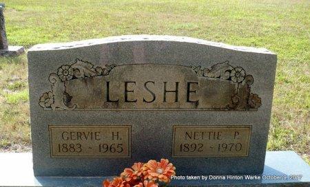 LESHE, GERVIE HAMILTON - Bienville County, Louisiana   GERVIE HAMILTON LESHE - Louisiana Gravestone Photos