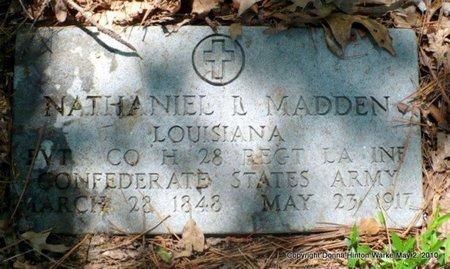MADDEN, NATHANIEL L  (VETERAN CSA) - Bienville County, Louisiana | NATHANIEL L  (VETERAN CSA) MADDEN - Louisiana Gravestone Photos