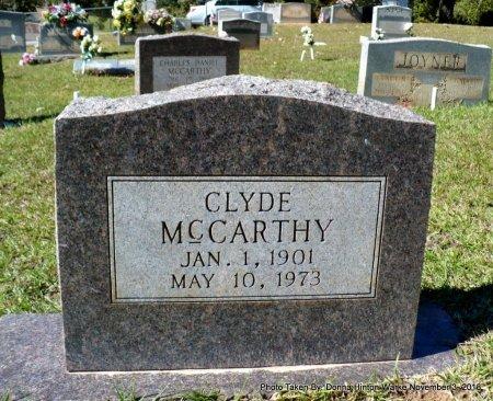 MCCARTHY, CLYDE - Bienville County, Louisiana | CLYDE MCCARTHY - Louisiana Gravestone Photos