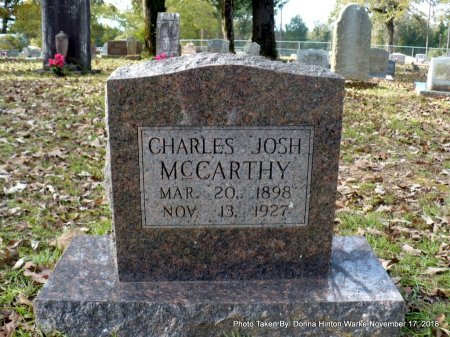 MCCARTHY, CHARLES JOSHUA - Bienville County, Louisiana   CHARLES JOSHUA MCCARTHY - Louisiana Gravestone Photos