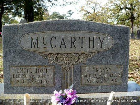 MCCARTHY, JOSHUA JAMES - Bienville County, Louisiana | JOSHUA JAMES MCCARTHY - Louisiana Gravestone Photos