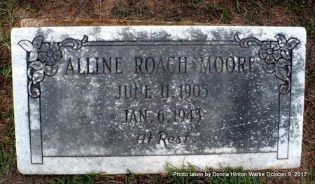 MOORE, ALLINE - Bienville County, Louisiana   ALLINE MOORE - Louisiana Gravestone Photos