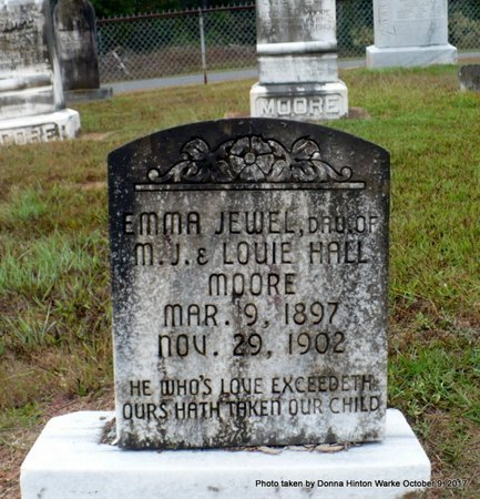 MOORE, EMMA JEWEL - Bienville County, Louisiana | EMMA JEWEL MOORE - Louisiana Gravestone Photos