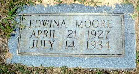 MOORE, EDWINA - Bienville County, Louisiana | EDWINA MOORE - Louisiana Gravestone Photos