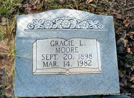 MOORE, GRACE L - Bienville County, Louisiana   GRACE L MOORE - Louisiana Gravestone Photos