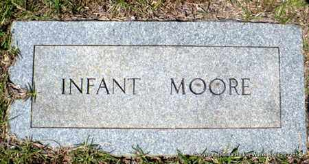 MOORE, INFANT - Bienville County, Louisiana | INFANT MOORE - Louisiana Gravestone Photos