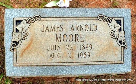 MOORE, JAMES ARNOLD - Bienville County, Louisiana   JAMES ARNOLD MOORE - Louisiana Gravestone Photos