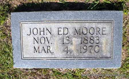 MOORE, JOHN ED - Bienville County, Louisiana | JOHN ED MOORE - Louisiana Gravestone Photos