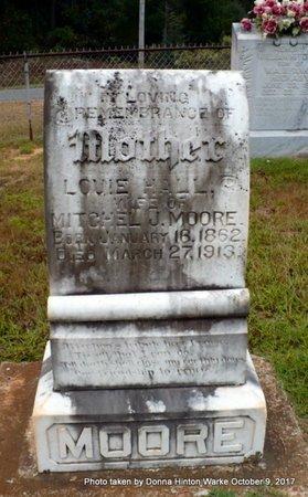 MOORE, LOUIE - Bienville County, Louisiana | LOUIE MOORE - Louisiana Gravestone Photos