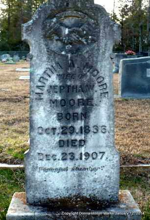 MOORE, MARTHA A - Bienville County, Louisiana | MARTHA A MOORE - Louisiana Gravestone Photos