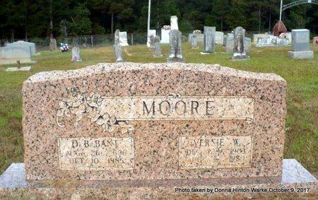 "MOORE, ORIE BANTON ""BANT"" - Bienville County, Louisiana | ORIE BANTON ""BANT"" MOORE - Louisiana Gravestone Photos"