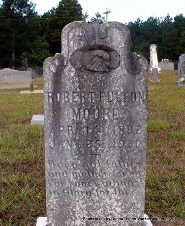 MOORE, ROBERT FULTON - Bienville County, Louisiana | ROBERT FULTON MOORE - Louisiana Gravestone Photos