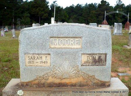 MOORE, SARAH FRANCES - Bienville County, Louisiana | SARAH FRANCES MOORE - Louisiana Gravestone Photos