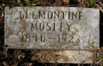 MOSLEY, CLEMONTINE - Bienville County, Louisiana | CLEMONTINE MOSLEY - Louisiana Gravestone Photos