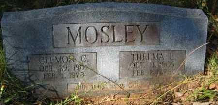 MOSLEY, CLEMON C - Bienville County, Louisiana   CLEMON C MOSLEY - Louisiana Gravestone Photos