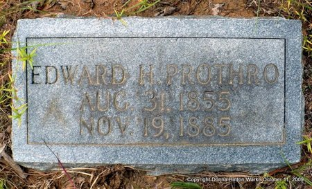 PROTHRO, EDWARD HARTWELL - Bienville County, Louisiana | EDWARD HARTWELL PROTHRO - Louisiana Gravestone Photos