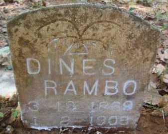 RAMBO, DINES - Bienville County, Louisiana | DINES RAMBO - Louisiana Gravestone Photos
