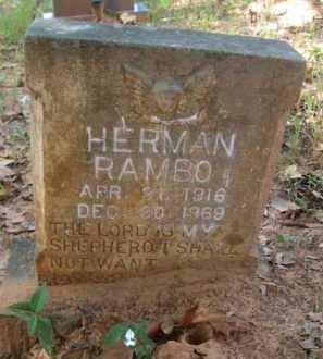 RAMBO, HERMAN - Bienville County, Louisiana | HERMAN RAMBO - Louisiana Gravestone Photos