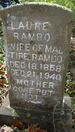 RAMBO, LAURE - Bienville County, Louisiana | LAURE RAMBO - Louisiana Gravestone Photos