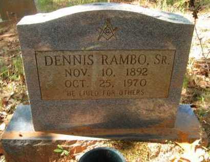 RAMBO, DENNIS, SR - Bienville County, Louisiana | DENNIS, SR RAMBO - Louisiana Gravestone Photos