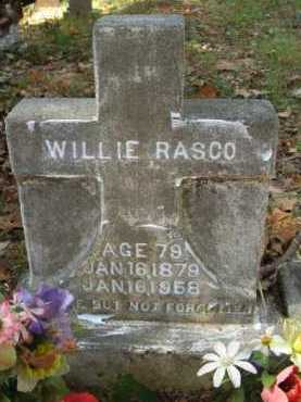 RASCO, WILLIE - Bienville County, Louisiana | WILLIE RASCO - Louisiana Gravestone Photos