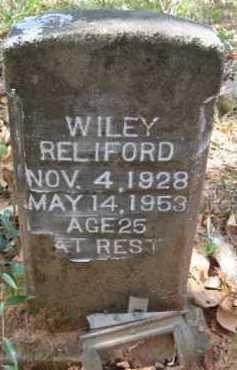 RELIFORD, WILEY - Bienville County, Louisiana | WILEY RELIFORD - Louisiana Gravestone Photos