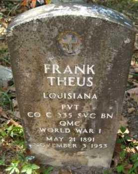 THEUS, FRANK - Bienville County, Louisiana | FRANK THEUS - Louisiana Gravestone Photos