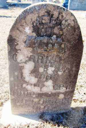 UNKNOWN, CARRIE - Bienville County, Louisiana | CARRIE UNKNOWN - Louisiana Gravestone Photos