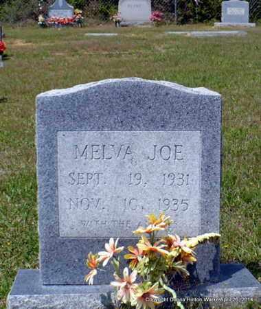 UNKNOWN, MELVA JOE - Bienville County, Louisiana   MELVA JOE UNKNOWN - Louisiana Gravestone Photos