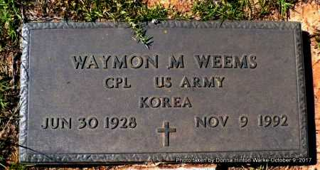 WEEMS , WAYMON MARVELL (VETERAN KOR) - Bienville County, Louisiana | WAYMON MARVELL (VETERAN KOR) WEEMS  - Louisiana Gravestone Photos