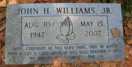 WILLIAMS, JOHN H , JR - Bienville County, Louisiana | JOHN H , JR WILLIAMS - Louisiana Gravestone Photos