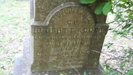 ADGER, ROBERT E - Bossier County, Louisiana   ROBERT E ADGER - Louisiana Gravestone Photos