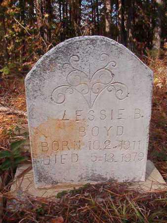 BOYD, LESSIE B - Bossier County, Louisiana   LESSIE B BOYD - Louisiana Gravestone Photos
