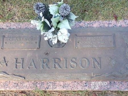 HARRISON, JEN D - Bossier County, Louisiana | JEN D HARRISON - Louisiana Gravestone Photos
