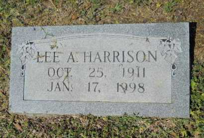 HARRISON, LEE A - Bossier County, Louisiana   LEE A HARRISON - Louisiana Gravestone Photos