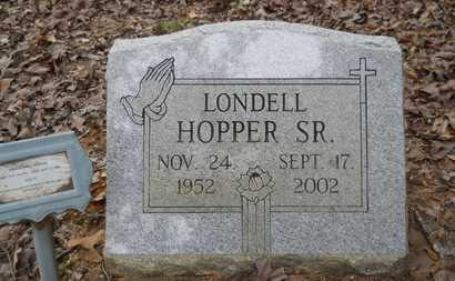 HOPPER, LONDELL, SR - Bossier County, Louisiana | LONDELL, SR HOPPER - Louisiana Gravestone Photos