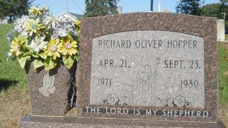 HOPPER, RICHARD OLIVER - Bossier County, Louisiana   RICHARD OLIVER HOPPER - Louisiana Gravestone Photos