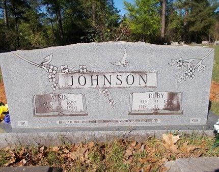 JOHNSON, RUBY - Bossier County, Louisiana | RUBY JOHNSON - Louisiana Gravestone Photos