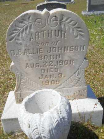 JOHNSON, ARTHUR - Bossier County, Louisiana | ARTHUR JOHNSON - Louisiana Gravestone Photos