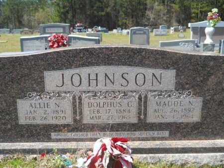 JOHNSON, ALLIE - Bossier County, Louisiana | ALLIE JOHNSON - Louisiana Gravestone Photos