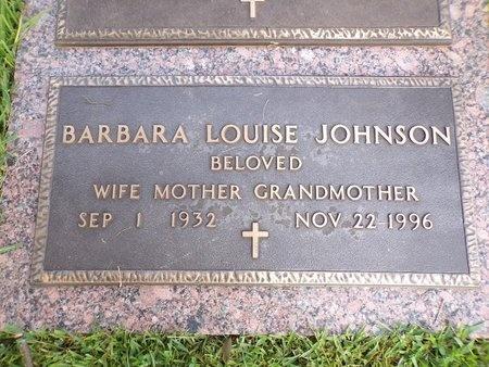 JOHNSON, BARBARA LOUISE - Bossier County, Louisiana | BARBARA LOUISE JOHNSON - Louisiana Gravestone Photos