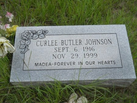 JOHNSON, CURLEE - Bossier County, Louisiana | CURLEE JOHNSON - Louisiana Gravestone Photos