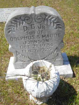 JOHNSON, D G, JR - Bossier County, Louisiana | D G, JR JOHNSON - Louisiana Gravestone Photos