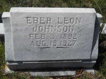 JOHNSON, EBER LEON - Bossier County, Louisiana | EBER LEON JOHNSON - Louisiana Gravestone Photos