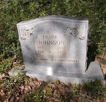 JOHNSON, FRANK - Bossier County, Louisiana | FRANK JOHNSON - Louisiana Gravestone Photos