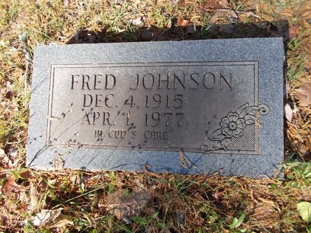 JOHNSON, FRED - Bossier County, Louisiana | FRED JOHNSON - Louisiana Gravestone Photos